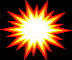 colorful vector explosion