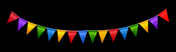 Party Streamer Transparent PNG Clipart   Gallery Yopriceville ...