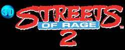 streets of rage 2 logo png