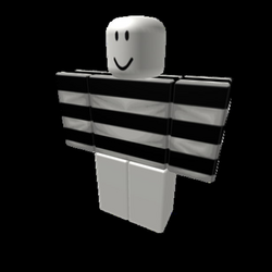 Transparent Horizontal Striped Shirt & *Shading* - Roblox