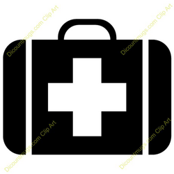 suitcase clipart doctor