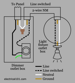 switch drawing electrical