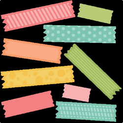 tape clipart scrapbook