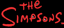 the simpsons logo png