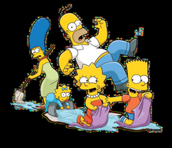 the simpsons png