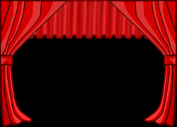 Theater Curtains Clip Art at Clker.com - vector clip art online ...