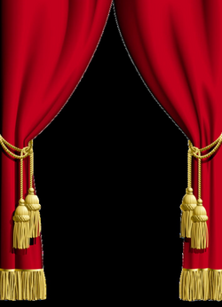 curtains clipart curtain frame