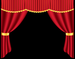 Transparent Red Curtain PNG Clipart | B&F-Curtainly | Pinterest ...