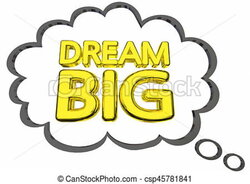 thought clipart dream
