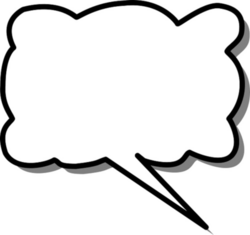thought clipart talk bubble