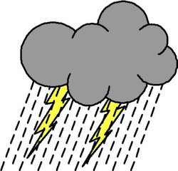 thunderstorm clipart hace