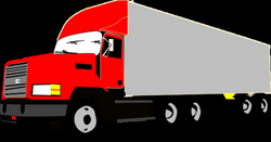 trucking vector commercial vehicle
