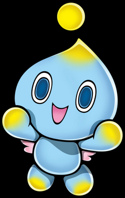 transparent chao yellow