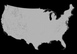 USGS Small-scale Dataset - 100-Meter Resolution Grayscale Shaded ...