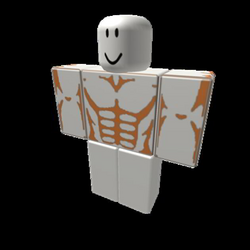Muscle Shirt (Transparent) - Roblox