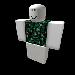 CW Ultimate: Emerald Entropy Shirt (With Shading) - Roblox