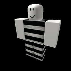 Transparent Horizontal Striped Pants & *Shading* - Roblox