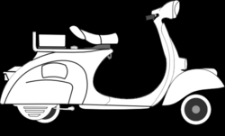 scooter vector sepeda