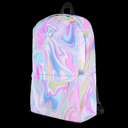 HOLO MARBLE TUMBLR SOFT GRUNGE BACKPACK - SWEATSHOP-FREE MADE IN USA ...