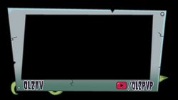 Just made myself a PvZ themed Twitch webcam overlay in 10 minutes ...