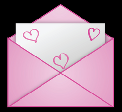 Valentine Pink Letter PNG Clipart Picture | Gallery Yopriceville ...