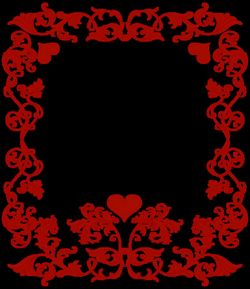 valentines day border png