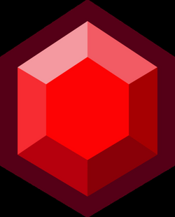 gems vector red