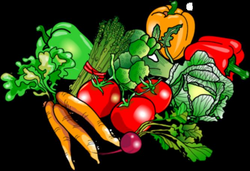 Image vegetables food clip art christart - Clipartix