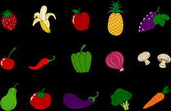 Clip Art Fruits And Veggies Clipart