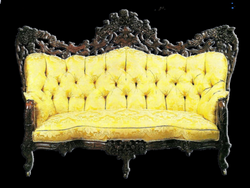 vintage couch png