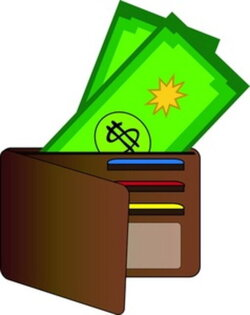 wallet clipart subsidy