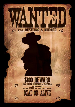 wanted transparent cowboy