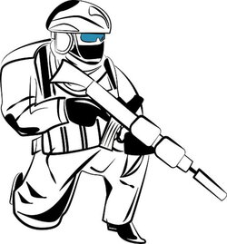 warrior clipart tactical