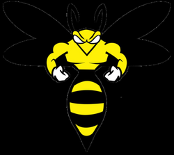 wasp vector stylized
