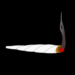 Clipart - Animation of a Joint-Cannabis Weed
