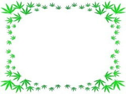 weeds clipart border