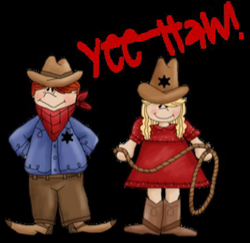 western clipart child