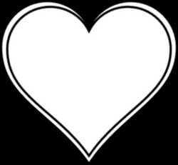Love Heart Line Drawing at GetDrawings.com | Free for personal use ...