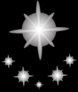 Shining Stars Effect Transparent PNG Clip Art Image | Gallery ...