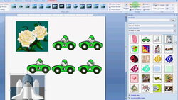how to use clip art in MS Word 2007 - YouTube