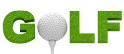 word clipart golf