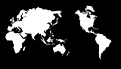 Maps World | Free Stock Photo | Illustration of a globe with a world ...