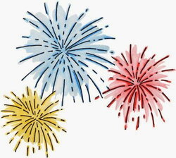 year eve clipart fireworks