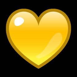 Yellow Heart Emoji for Facebook, Email & SMS | ID#: 12935 | Emoji.co.uk
