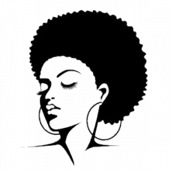 Afro Silhouette Clip Art | Clipart Panda - Free Clipart Images