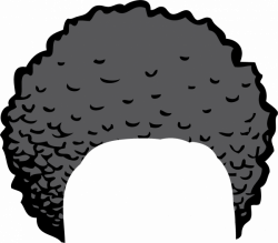 Afro Clipart Pic - 2292 - TransparentPNG