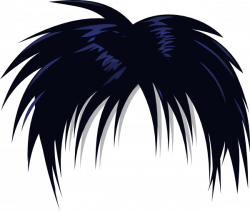 Anime Hair PNG Transparent Anime Hair.PNG Images. | PlusPNG