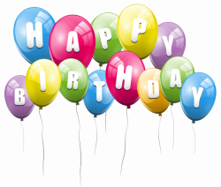 Transparent Balloons Happy Birthday PNG Picture Clipart | Gallery ...