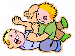 Physical Bullying Clipart