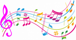 colorful music notes design - Google Search | artsy borders for ...